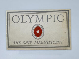 Olympic Ship Magnificant Brochure