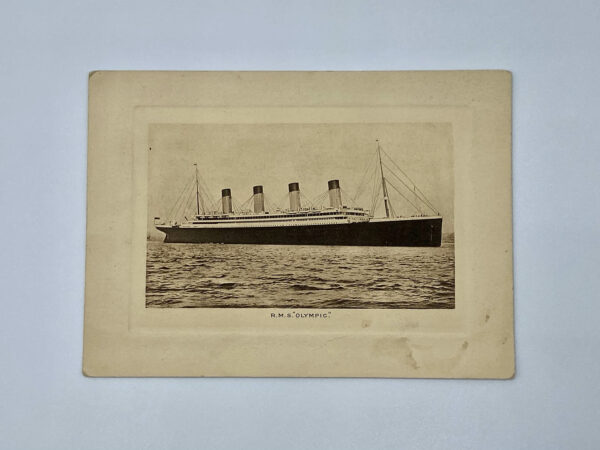 RMS Olympic Abstract of Log Front