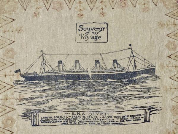RMS Olympic Handkerchief