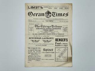 RMS Olympic Ocean Times