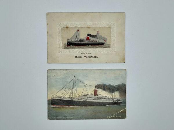 RMS Virginian Postcards