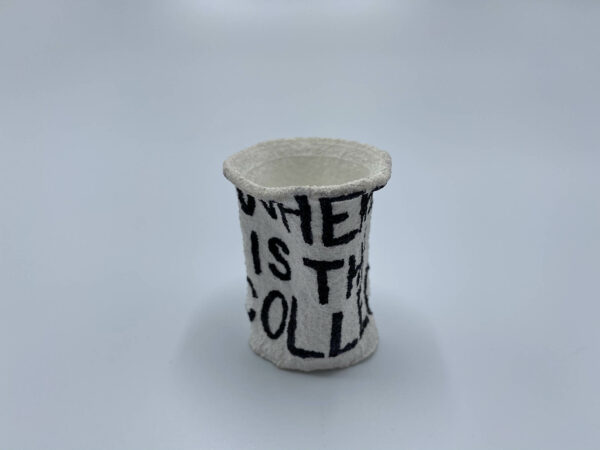 Titanic Expedition Dive Styrofoam Cup 1