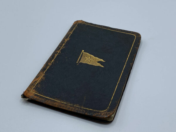 White Star Line Agent Diary Inside Angle
