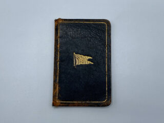 White Star Line Agent Diary Inside Front