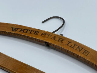 White Star Line Coat Hanger Close Front