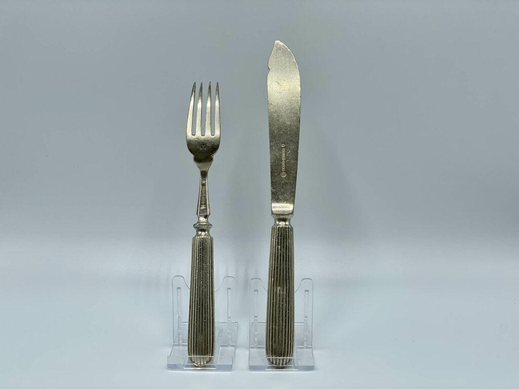 White Star Line Knife Fork 1st Class