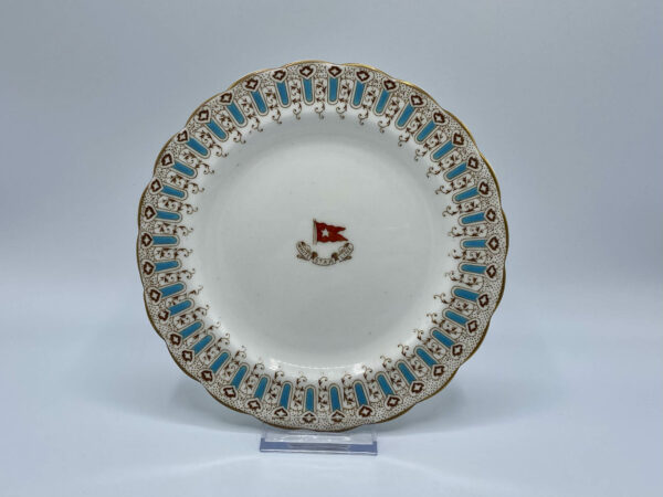 White Star Line Wisteria Pattern Salad Plate