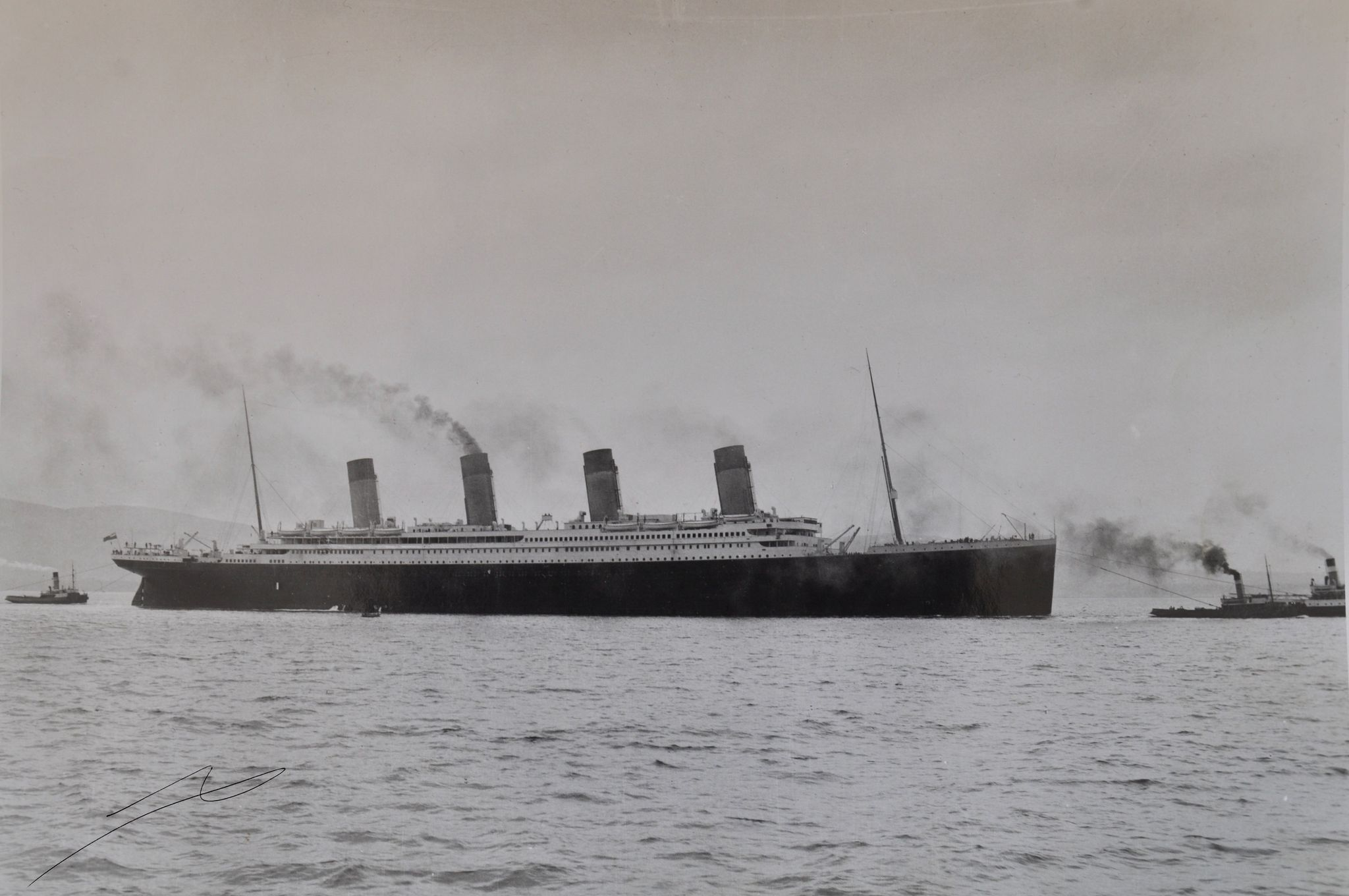 Titanic photo rare