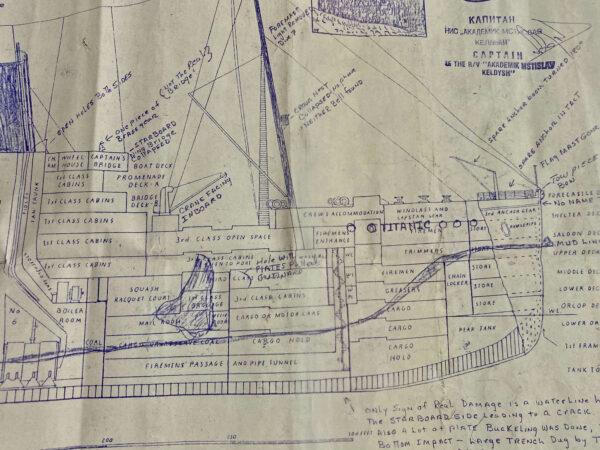 Ralph White Titanic Expedition Plan