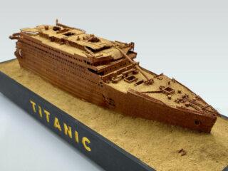 Titanic Wreck Bow Model 1985