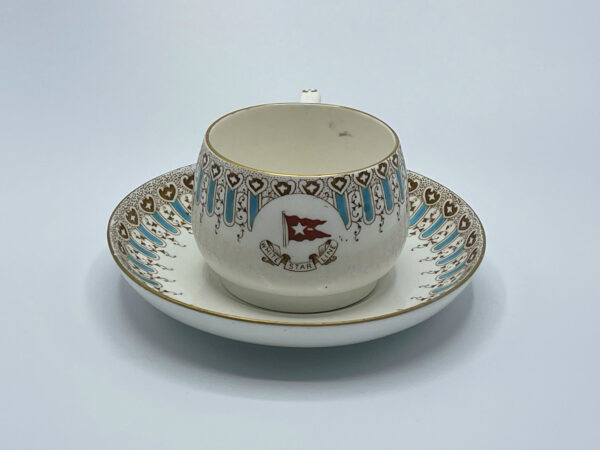 White Star Line Hot Chocolate Cup 1